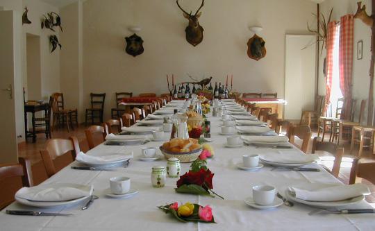 Rooms reception La Maisonnette