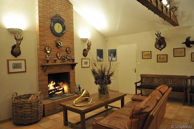 Hunting lodge room La Maisonnette Domain