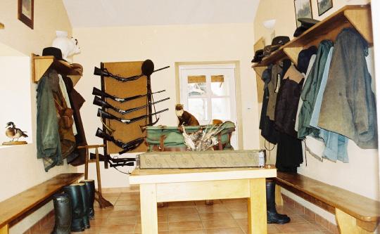 Cloakroom La Maisonnette Domaine